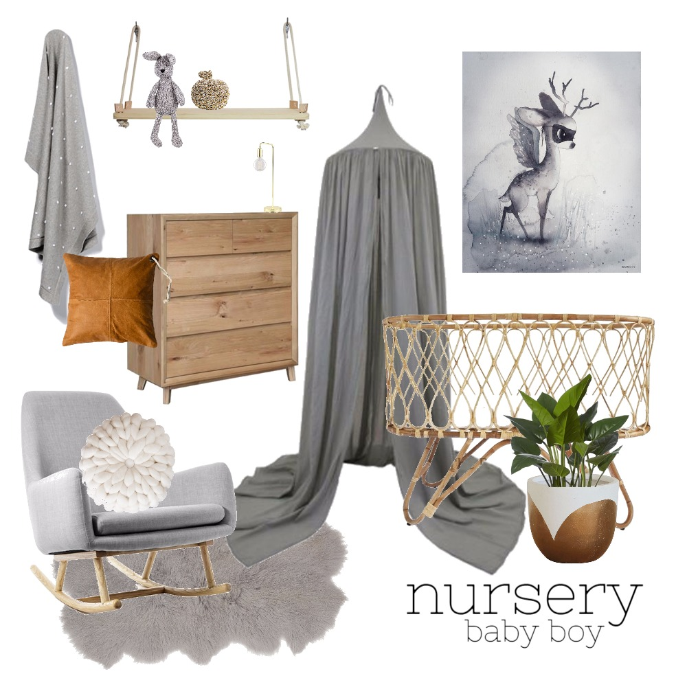 Nursery (Boys) Mood Board by Rebecca Kurka on Style Sourcebook