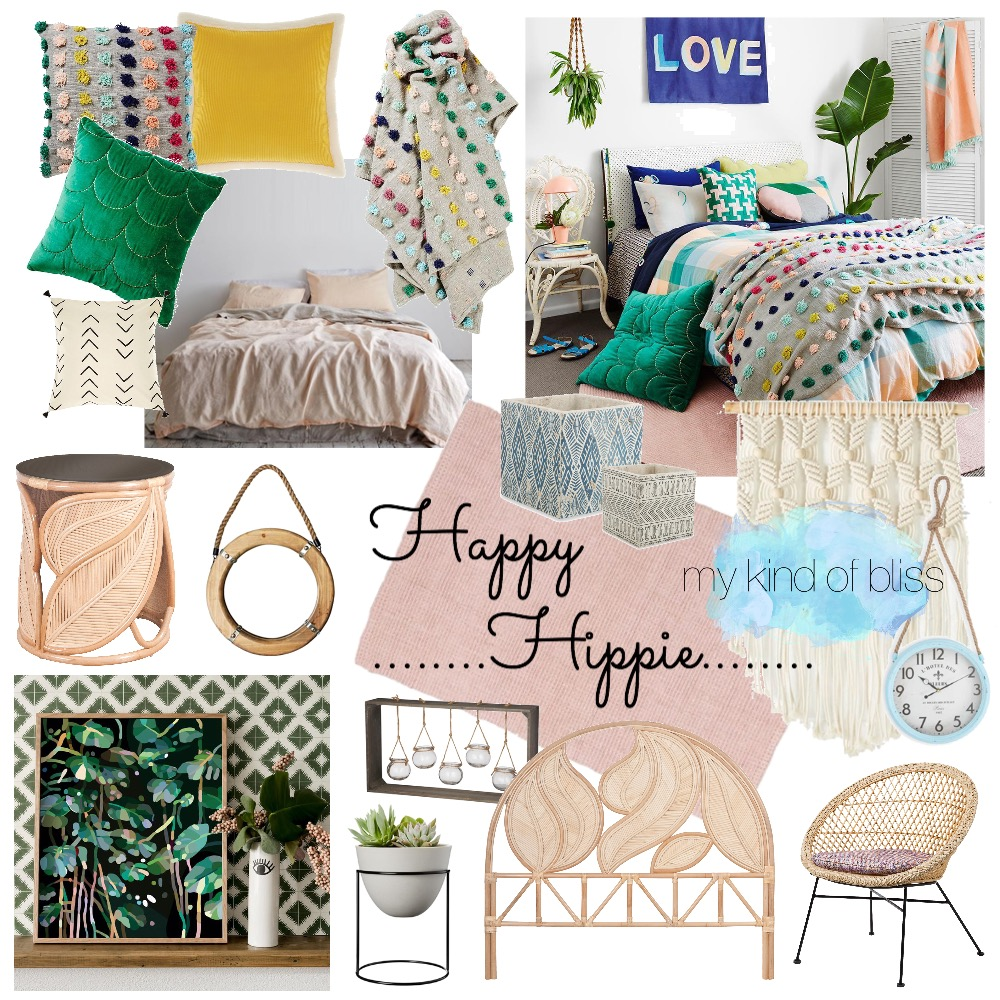 Happy Hippie Mood Board by My Kind Of Bliss on Style Sourcebook
