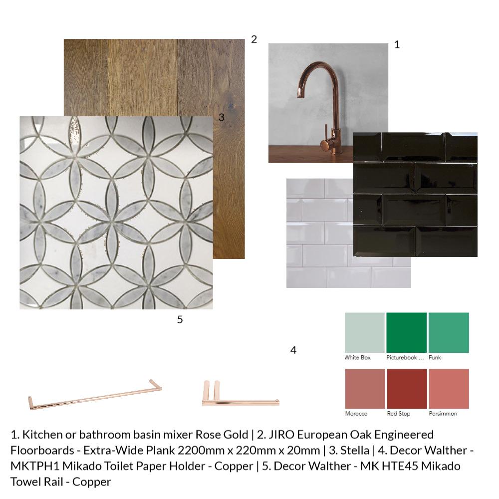 poweder room sample Mood Board by Letitiaedesigns on Style Sourcebook