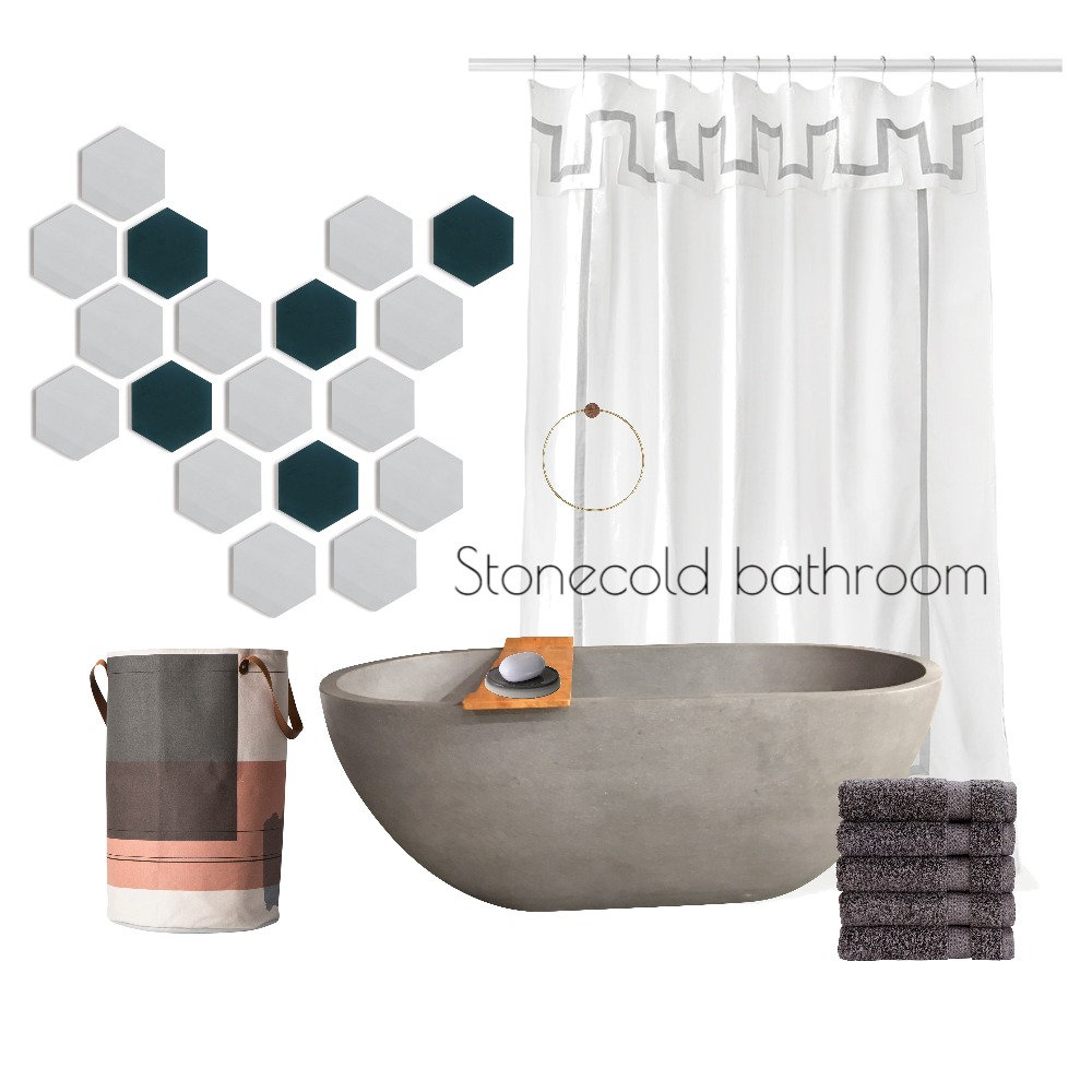 Stonecold bathroom Mood Board by evesam on Style Sourcebook