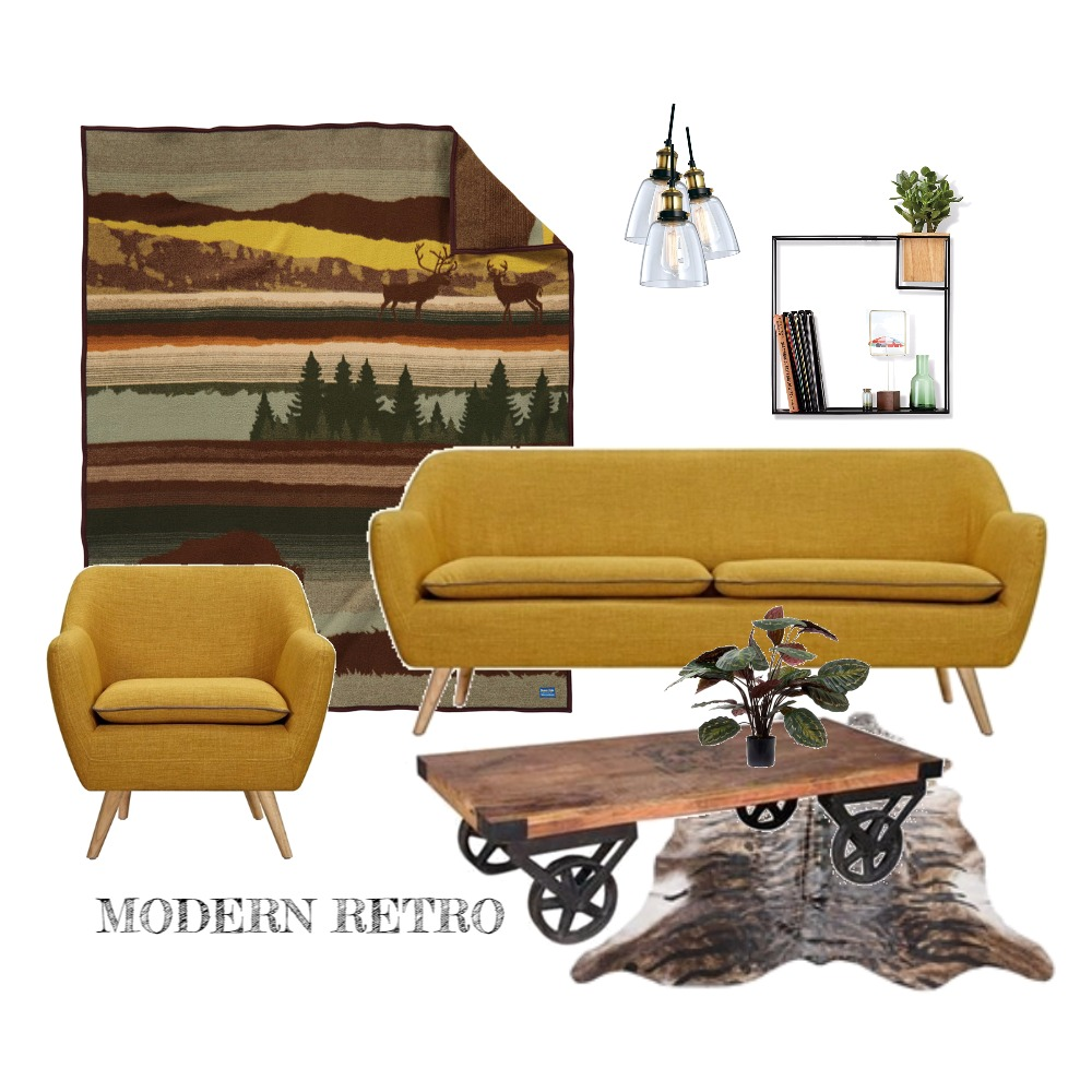 Modern retro Mood Board by evesam on Style Sourcebook
