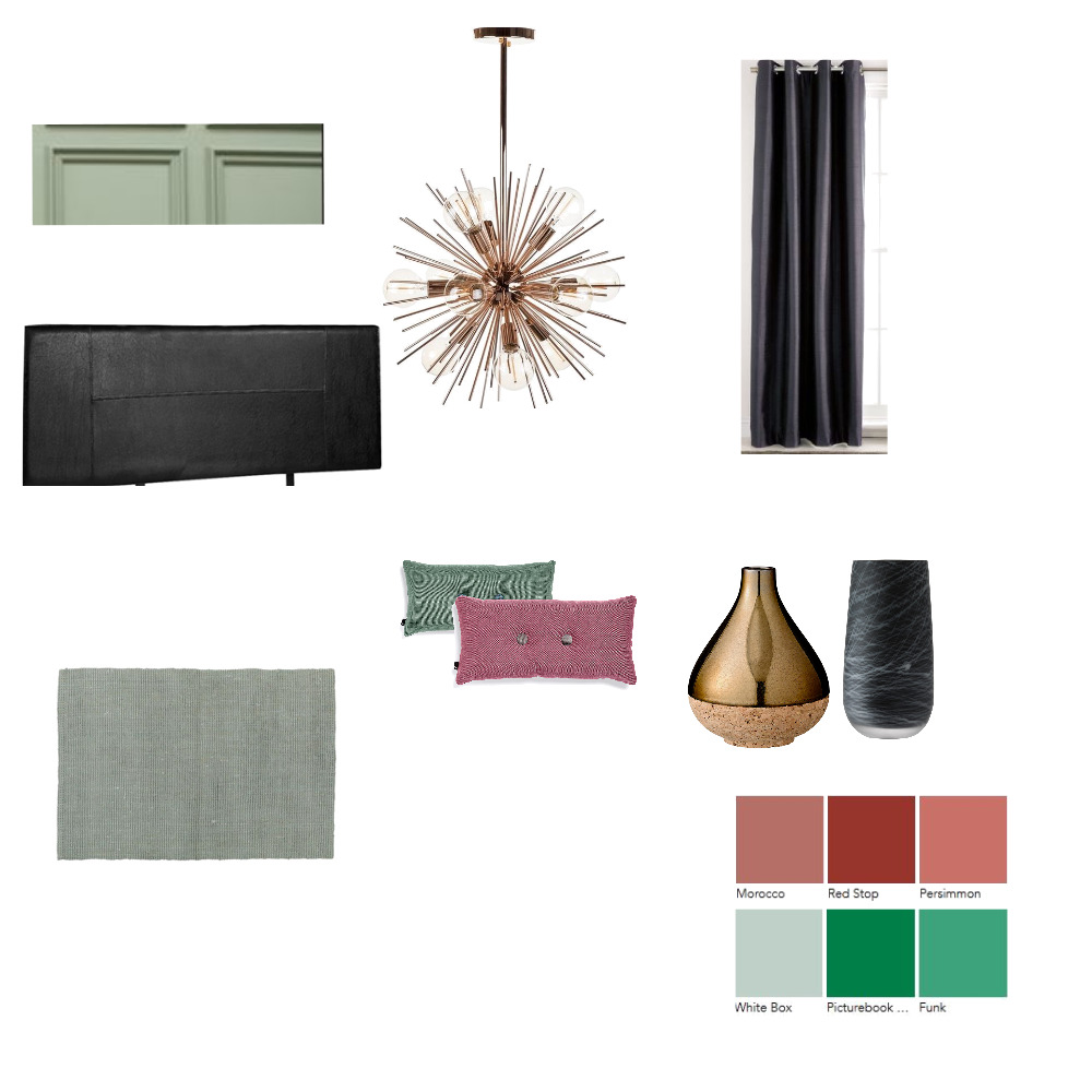 soho apartment bedroom sample Interior Design Mood Board by Letitiaedesigns on Style Sourcebook