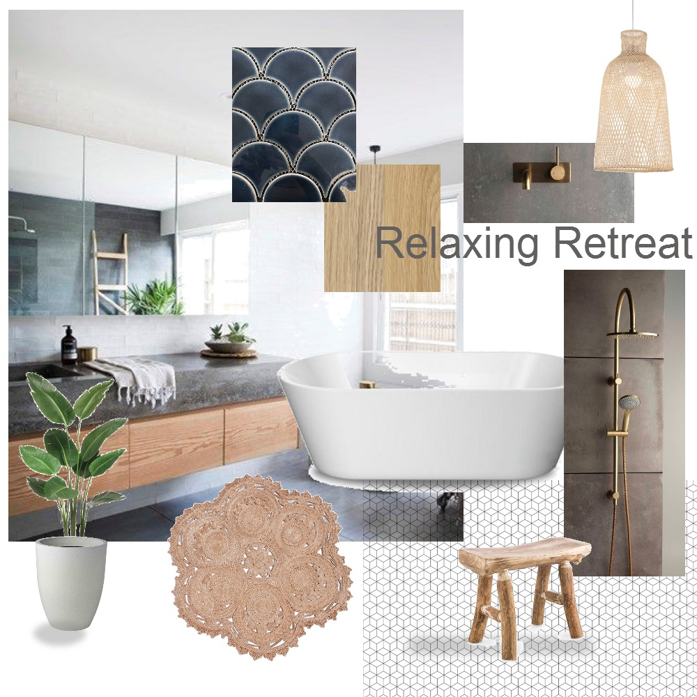 Relaxing Retreat 2 Mood Board by Nook on Style Sourcebook