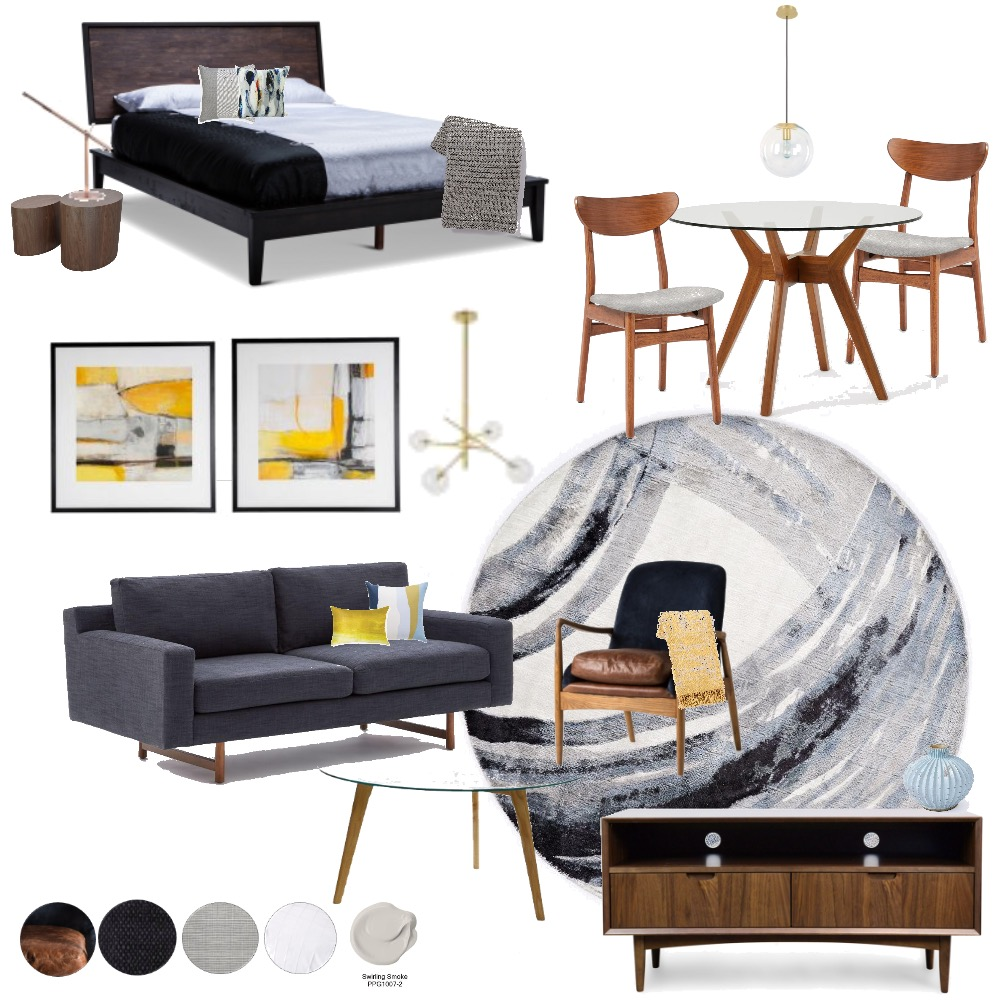 Minimalist Air BnB Mood Board by lorirose217 on Style Sourcebook