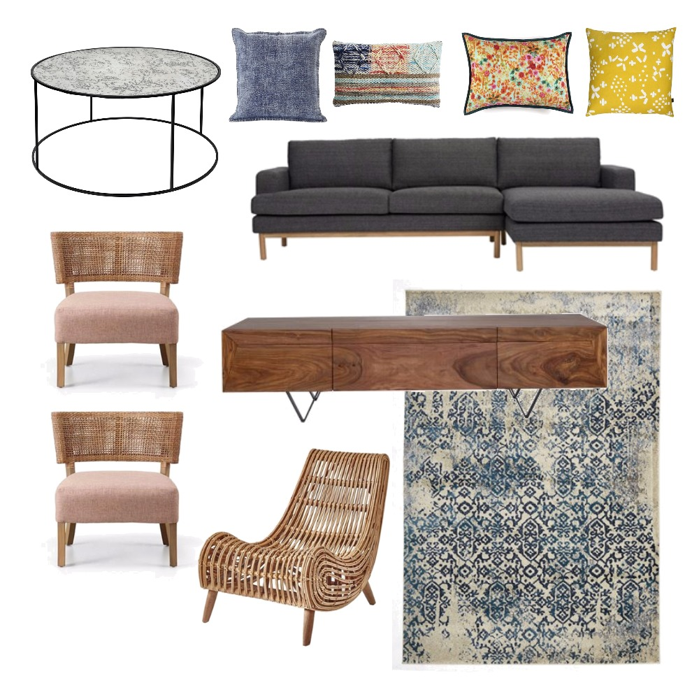 Living Room Mood Board by LucyLu on Style Sourcebook