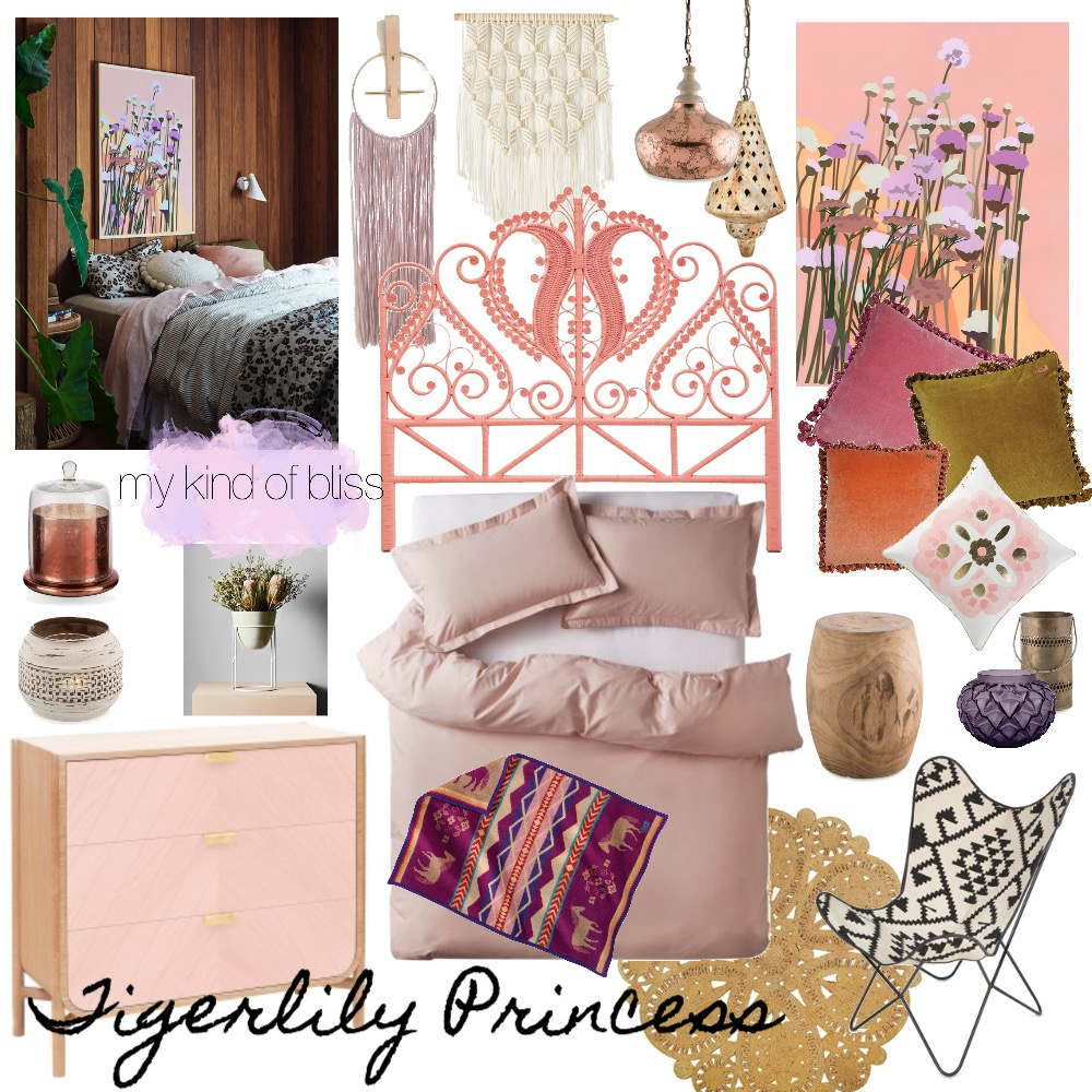 Tigerlily Princess Mood Board by My Kind Of Bliss on Style Sourcebook