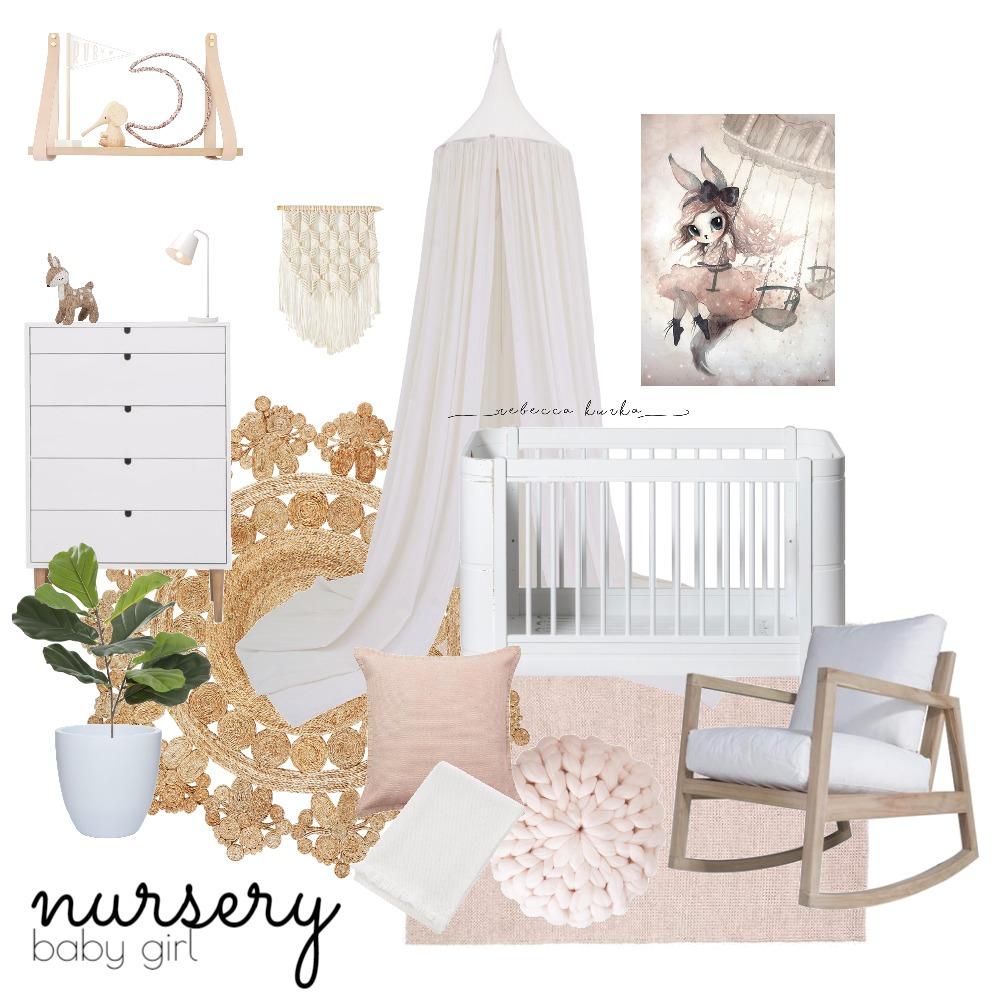 Nursery (Girl 2) Mood Board by Rebecca Kurka on Style Sourcebook