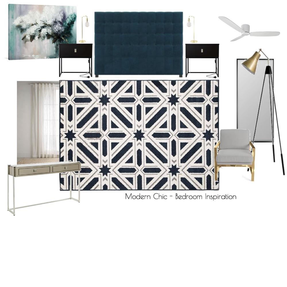Modern Chic - Bedroom Inspiration Mood Board by Garro Interior Design on Style Sourcebook