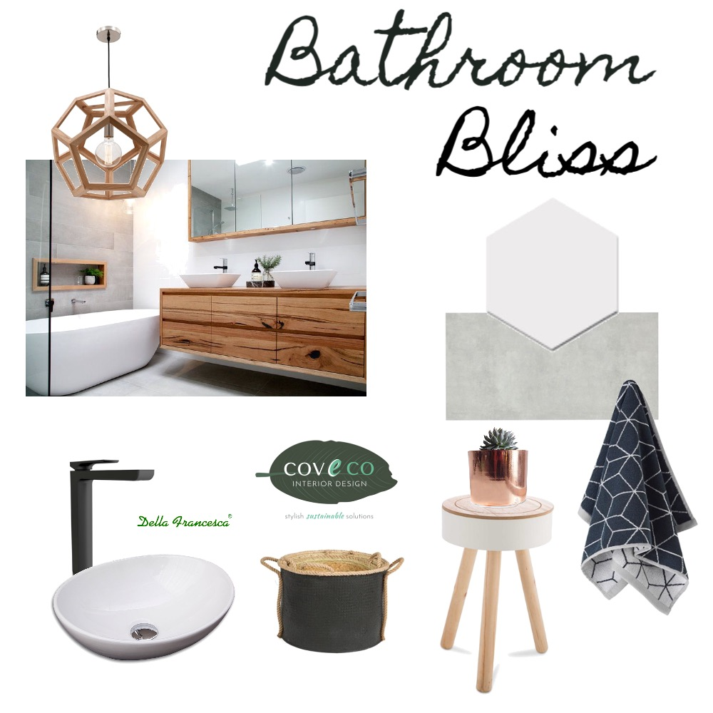 Bathroom Bliss Mood Board by Coveco Interior Design on Style Sourcebook