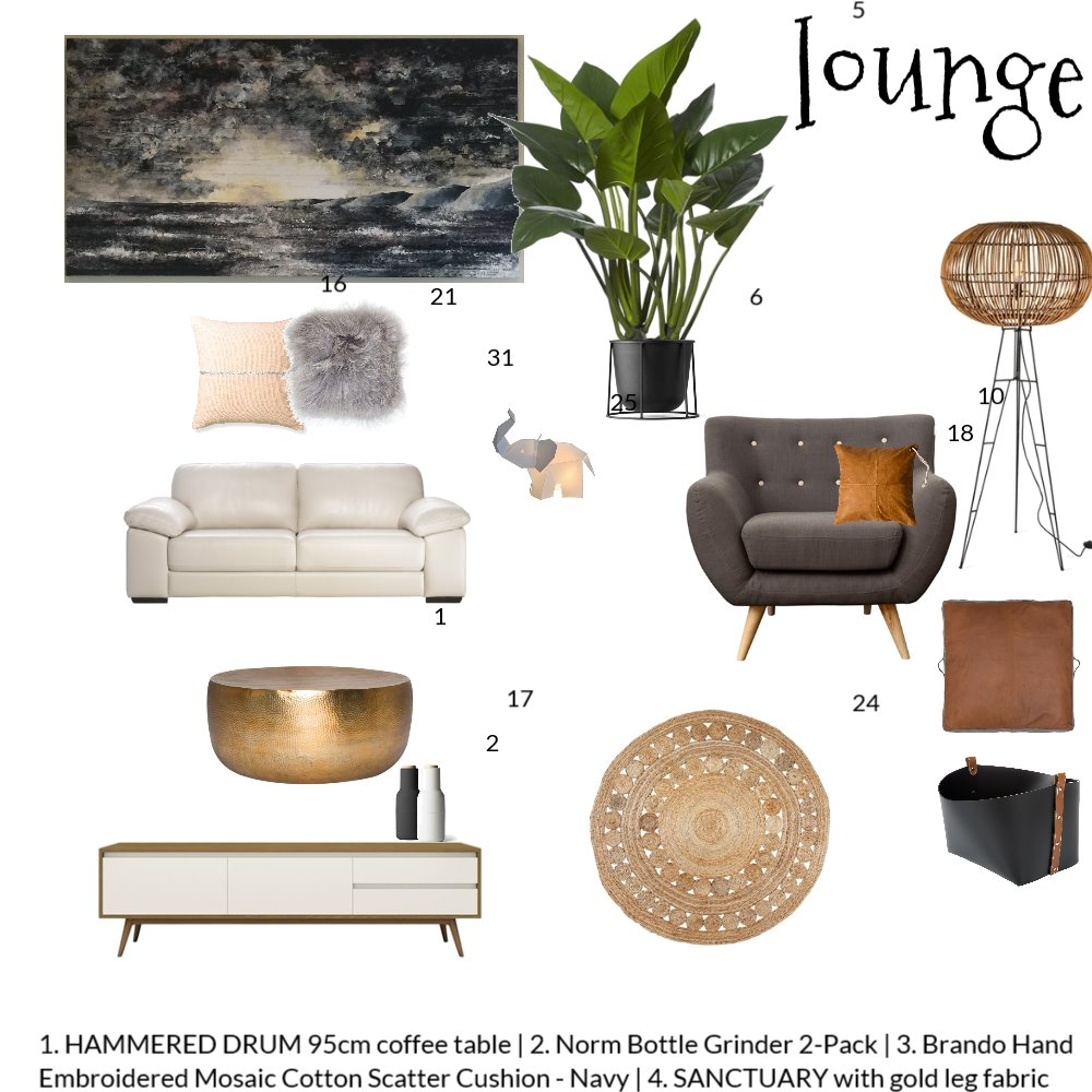 lounge Mood Board by cjarie on Style Sourcebook