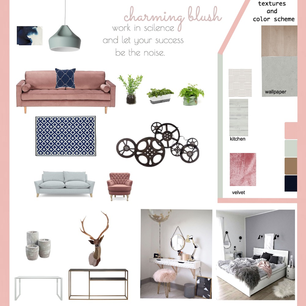 studio apartment Mood Board by zahraebh on Style Sourcebook