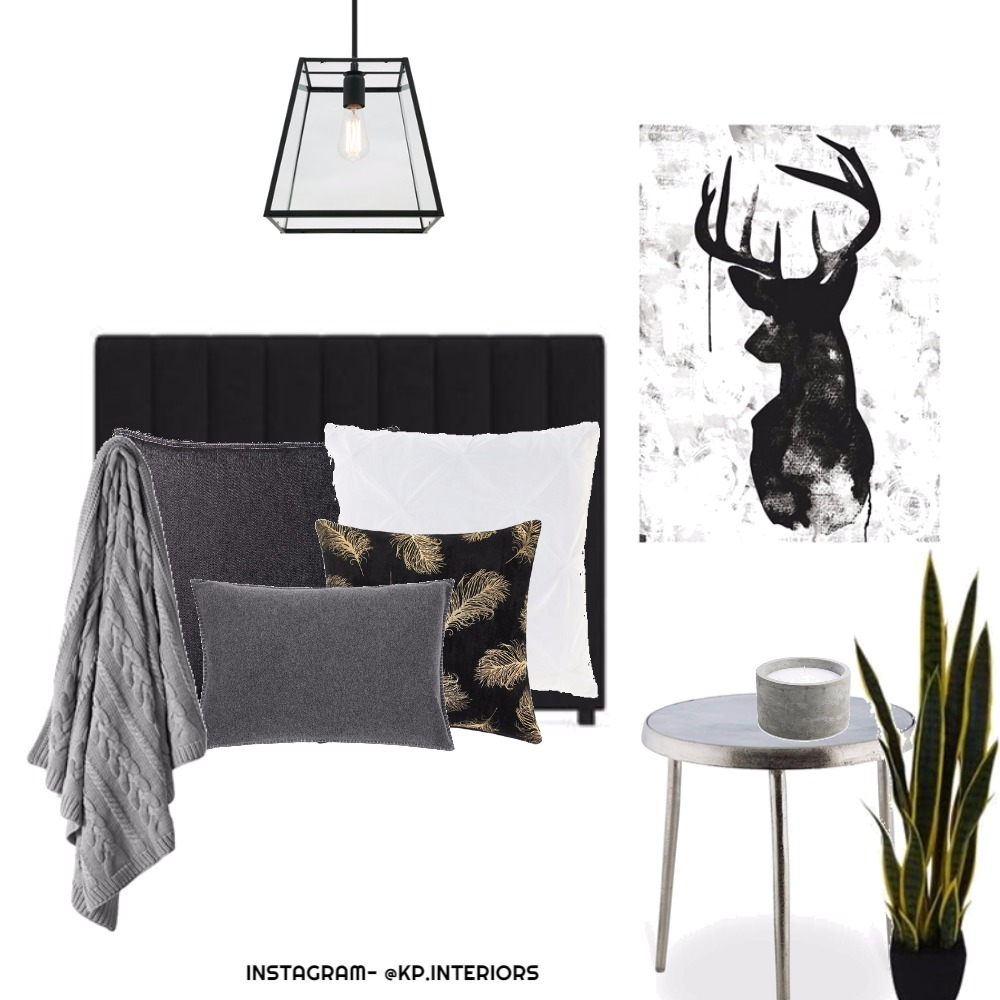 monochrome with gold Mood Board by Kirsty on Style Sourcebook