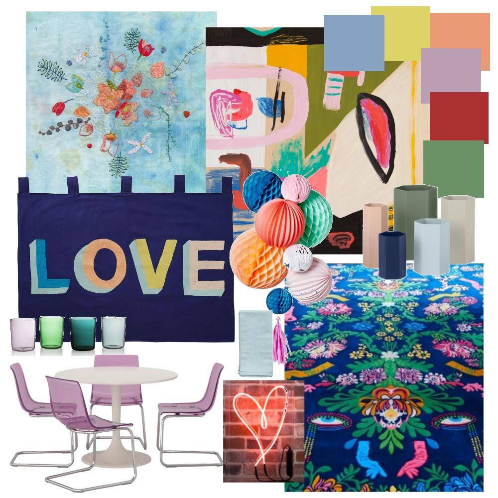 Rainbow Mood Board by harriehighpants on Style Sourcebook