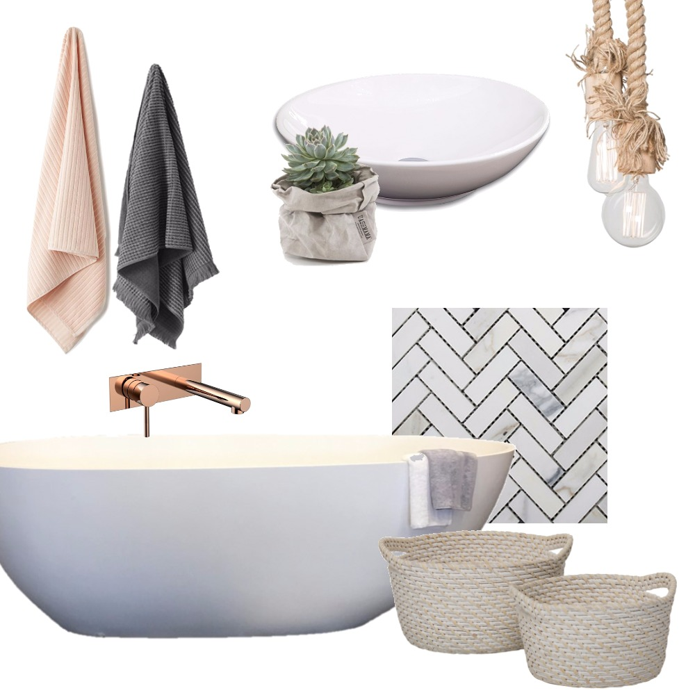 zen bathroom Mood Board by grace_creative on Style Sourcebook