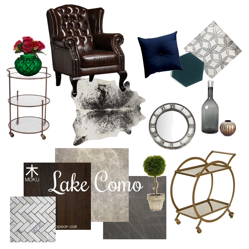 Lake Como Mood Board by thebohemianstylist on Style Sourcebook