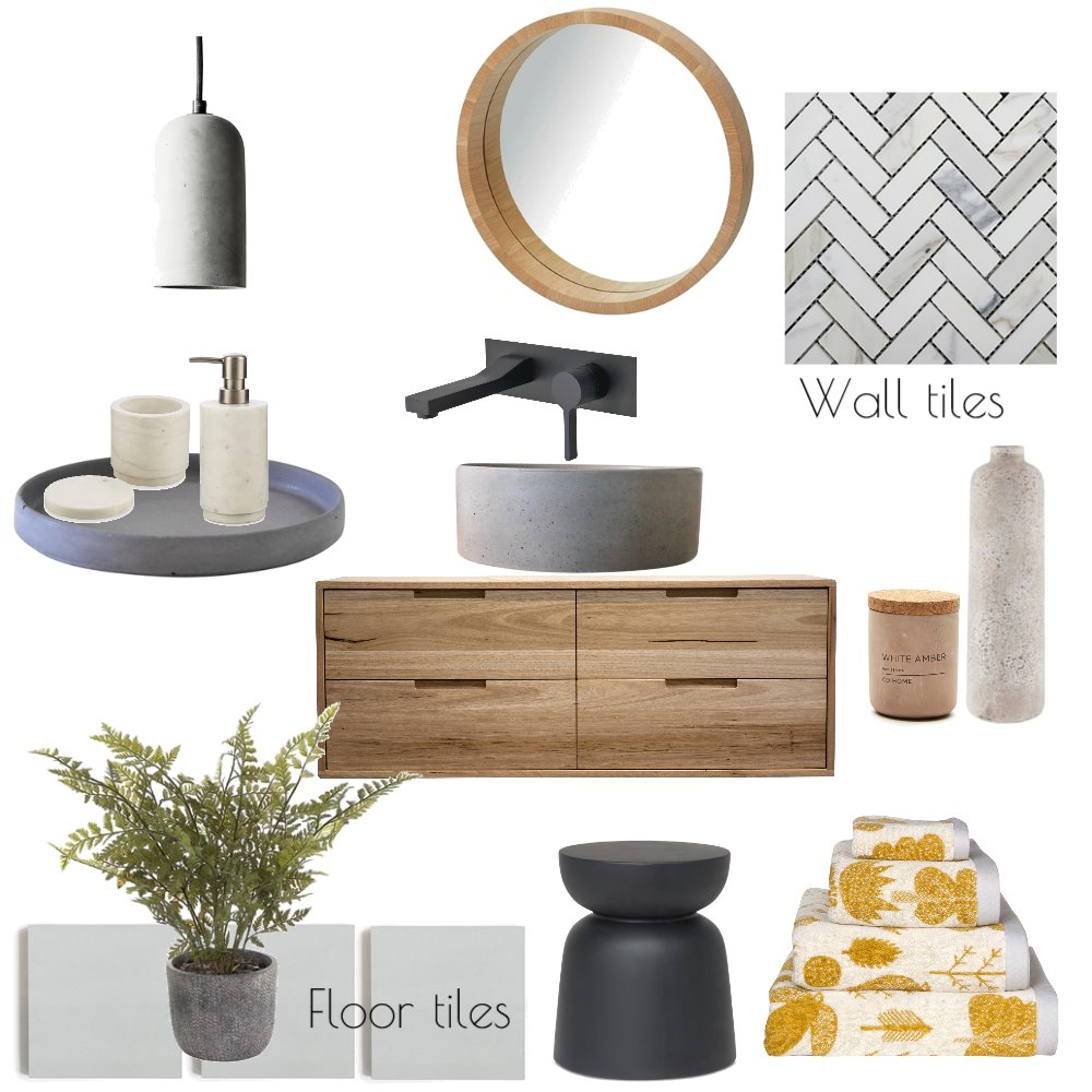 Bathroom Inspo Mood Board by Bloom Styling Co on Style Sourcebook