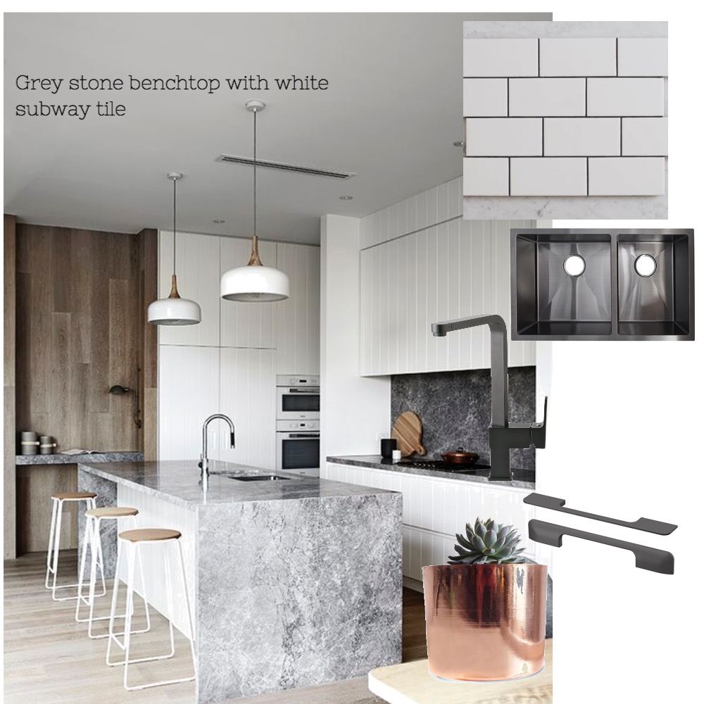 Murray - Grey stone benchtop Mood Board by Nook on Style Sourcebook