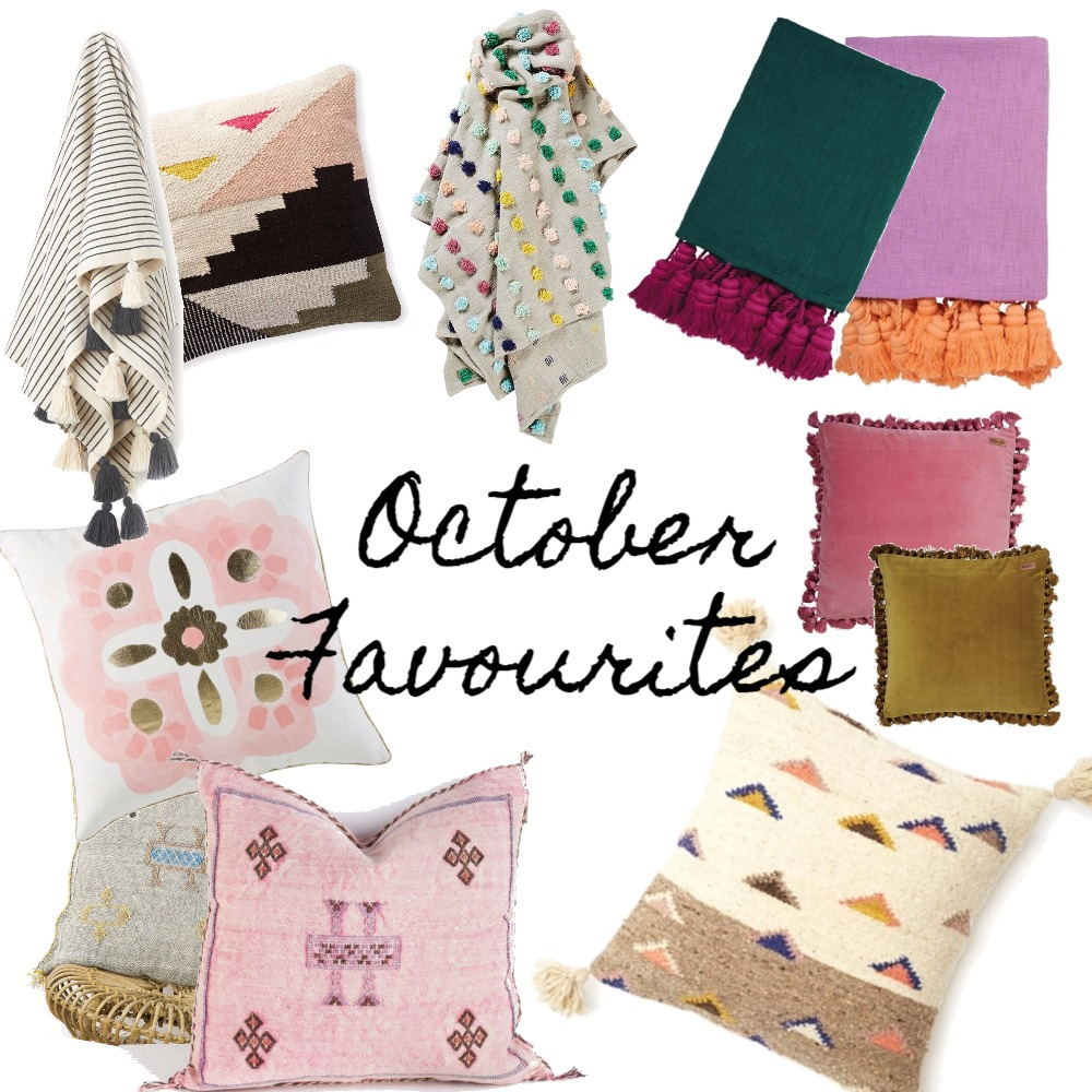 October Favourites- Cushions & Throws Mood Board by My Kind Of Bliss on Style Sourcebook