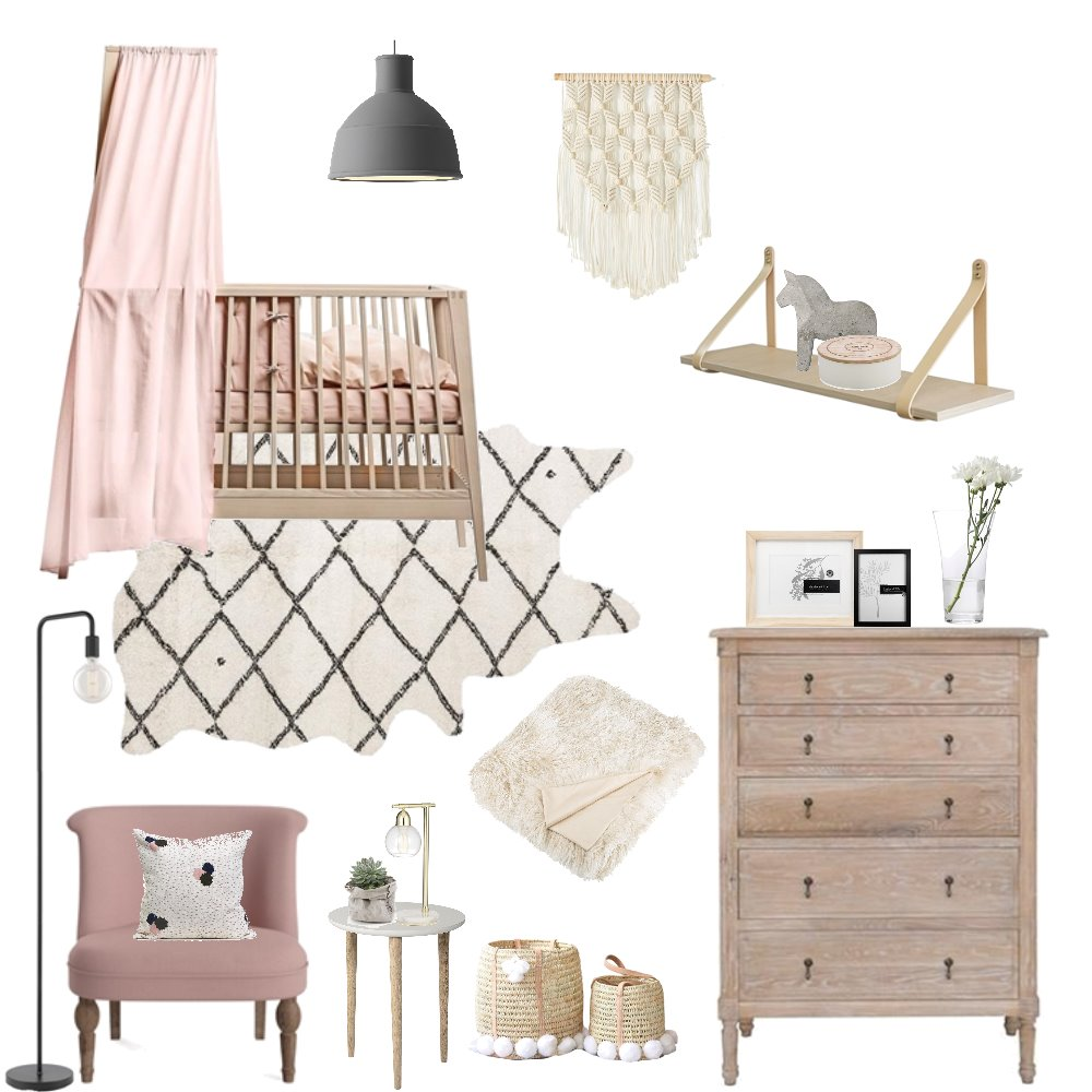 Blush Baby Mood Board by Bloom Styling Co on Style Sourcebook