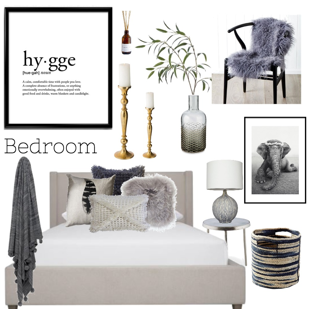 Hygge Bedroom Mood Board by howsonh on Style Sourcebook