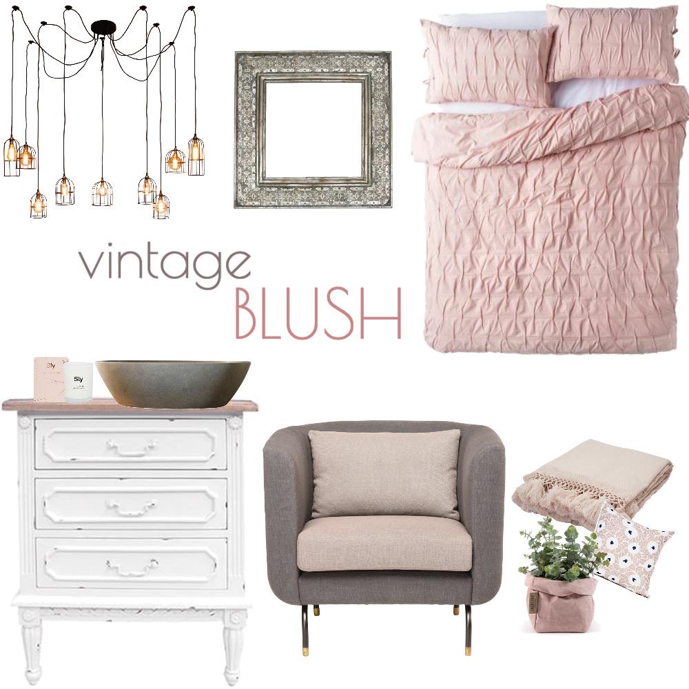 Vintage Blush Interior Design Mood Board by www.susanwareham.com on Style Sourcebook