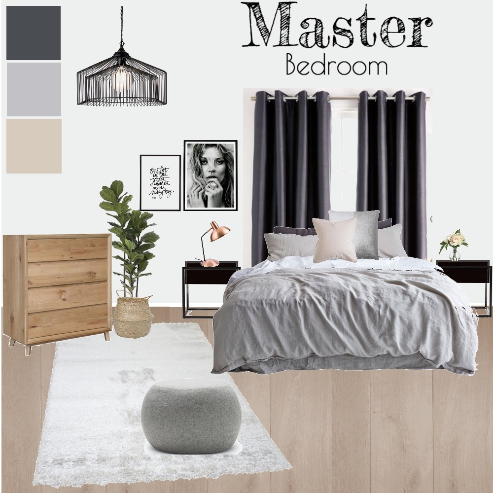 Bedroom Mood Board by heathergill on Style Sourcebook