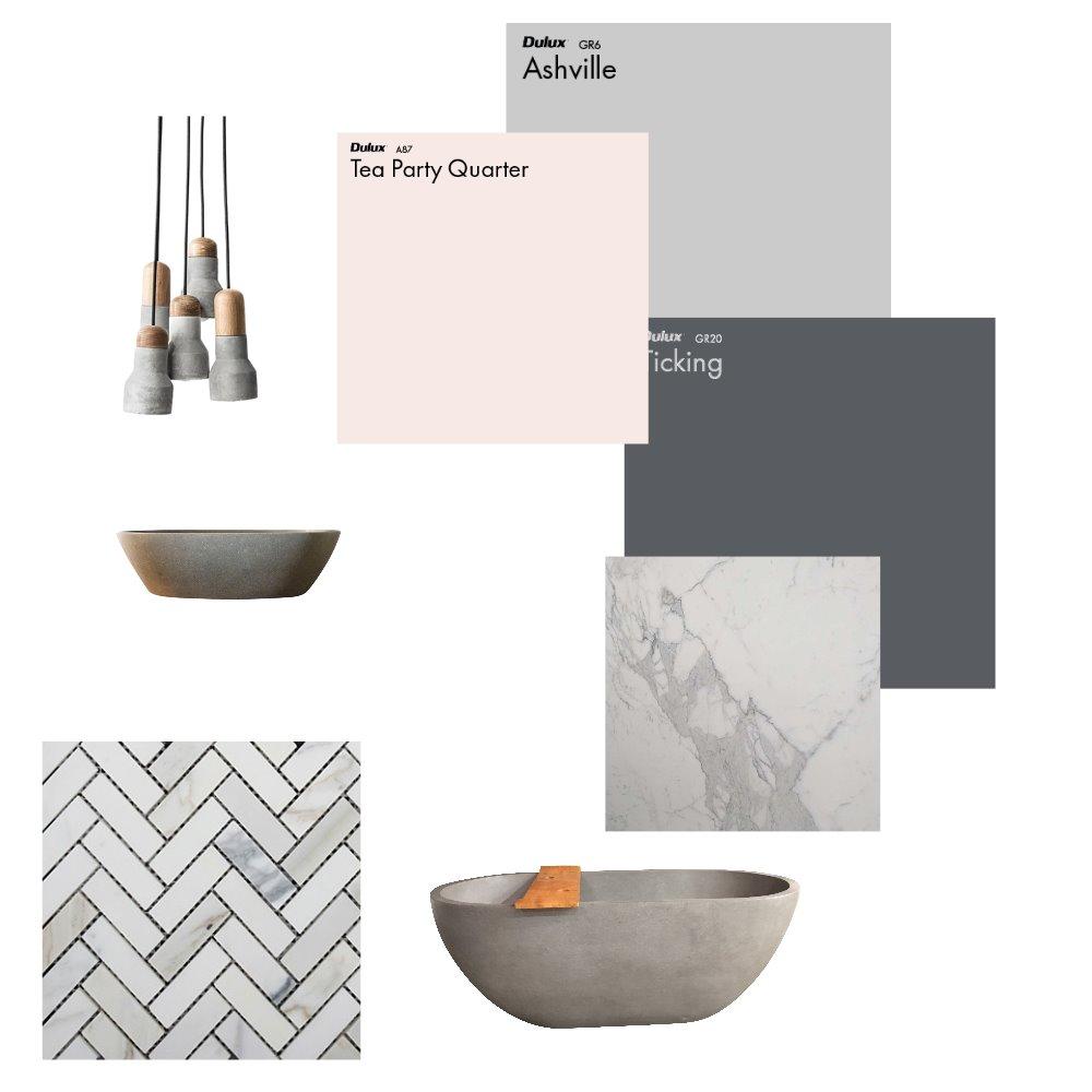 Main Bathroom Wishlist Interior Design Mood Board by andrealucenaorr on Style Sourcebook