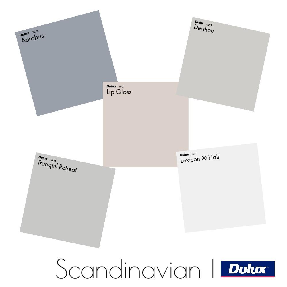 Dulux Scandinavian Colour Palette Mood Board by Dulux Australia on Style Sourcebook