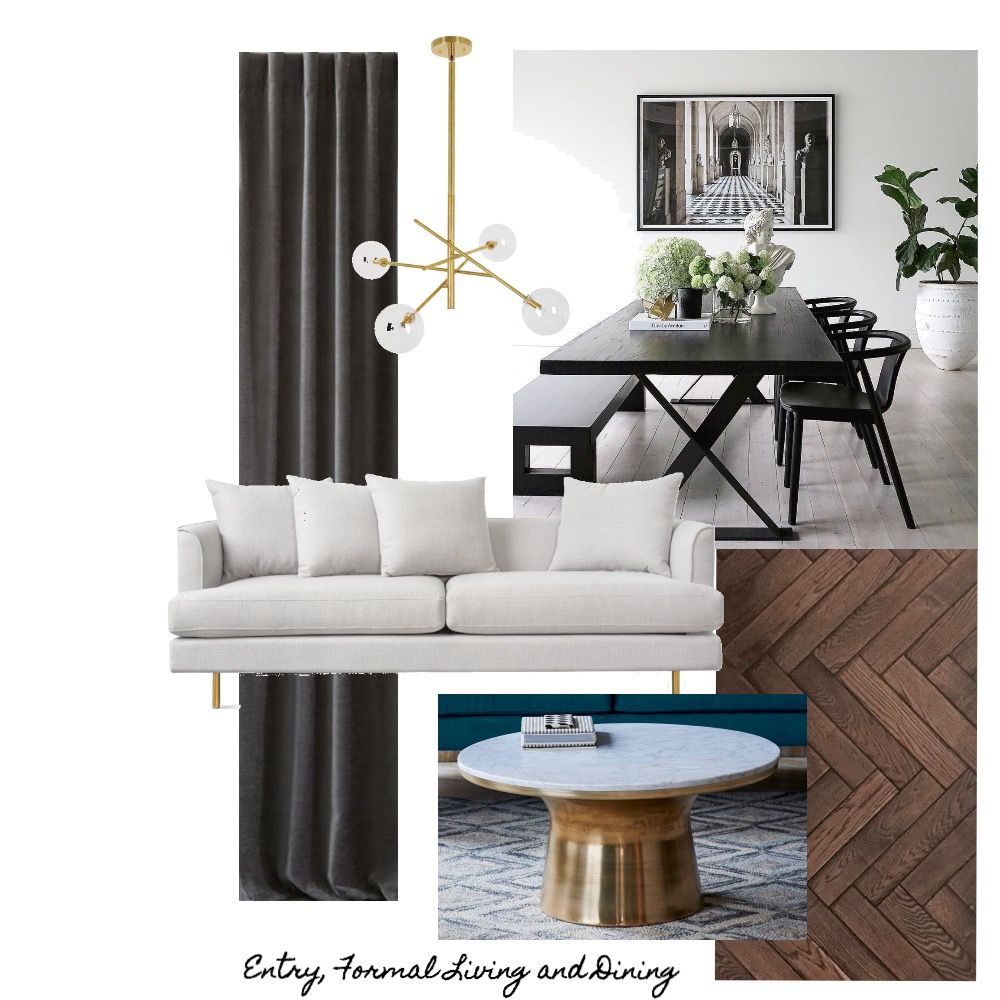 Entry, Formal Living and Dining Mood Board by hollymiskimmin on Style Sourcebook