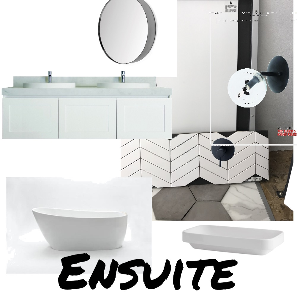Ensuite Mood Board by TrudiMasalski on Style Sourcebook