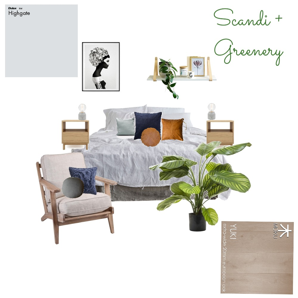 Scandi + greenery Mood Board by the.stuff.and.the.thangs on Style Sourcebook