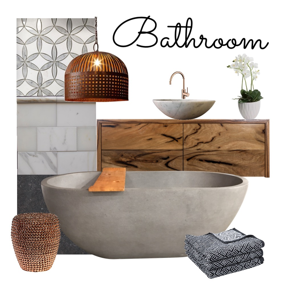 Bathroom Mood Board by QuirkyDesign on Style Sourcebook