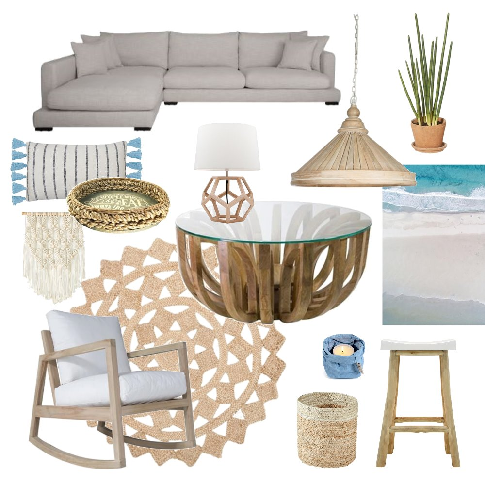 Coastal Mood Board by jolewis on Style Sourcebook