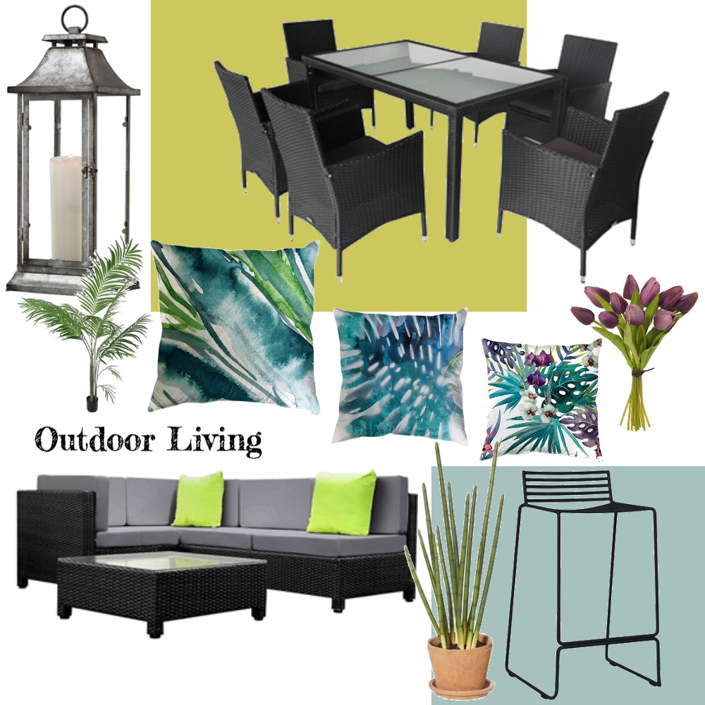 Green Outdoor Living Mood Board by Plush Design Interiors on Style Sourcebook
