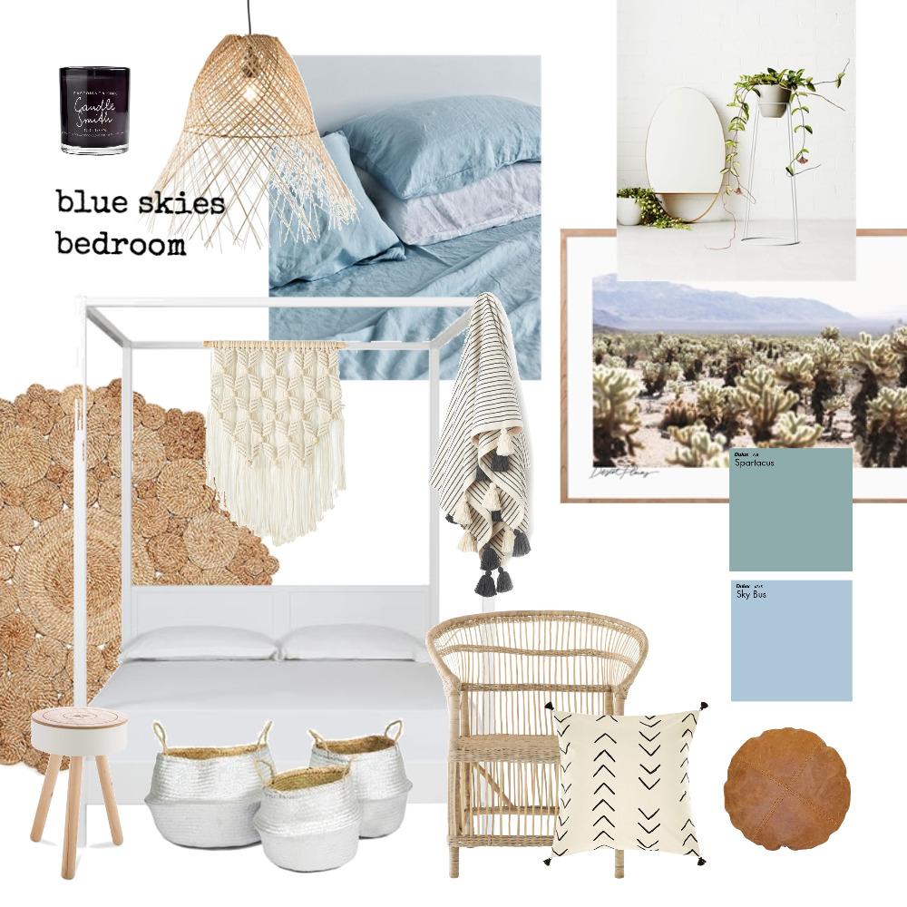 Blue Skies Bedroom Mood Board by design_social on Style Sourcebook