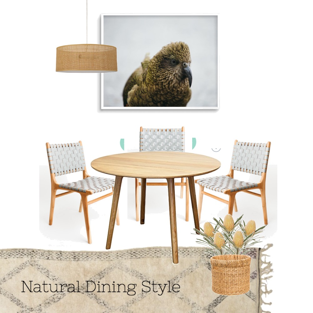 Natural Dining Style Mood Board by dearlittlehome on Style Sourcebook