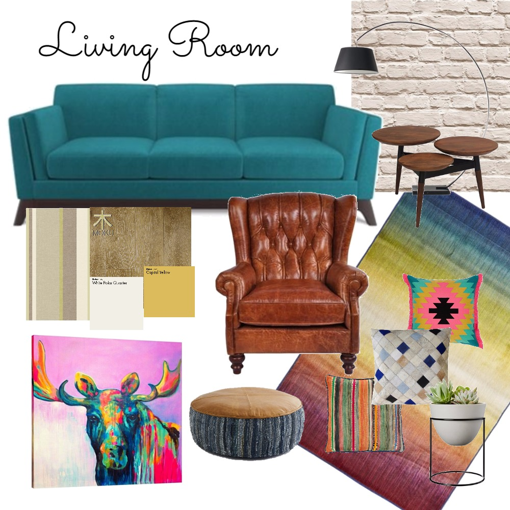 Living Room Mood Board by QuirkyDesign on Style Sourcebook