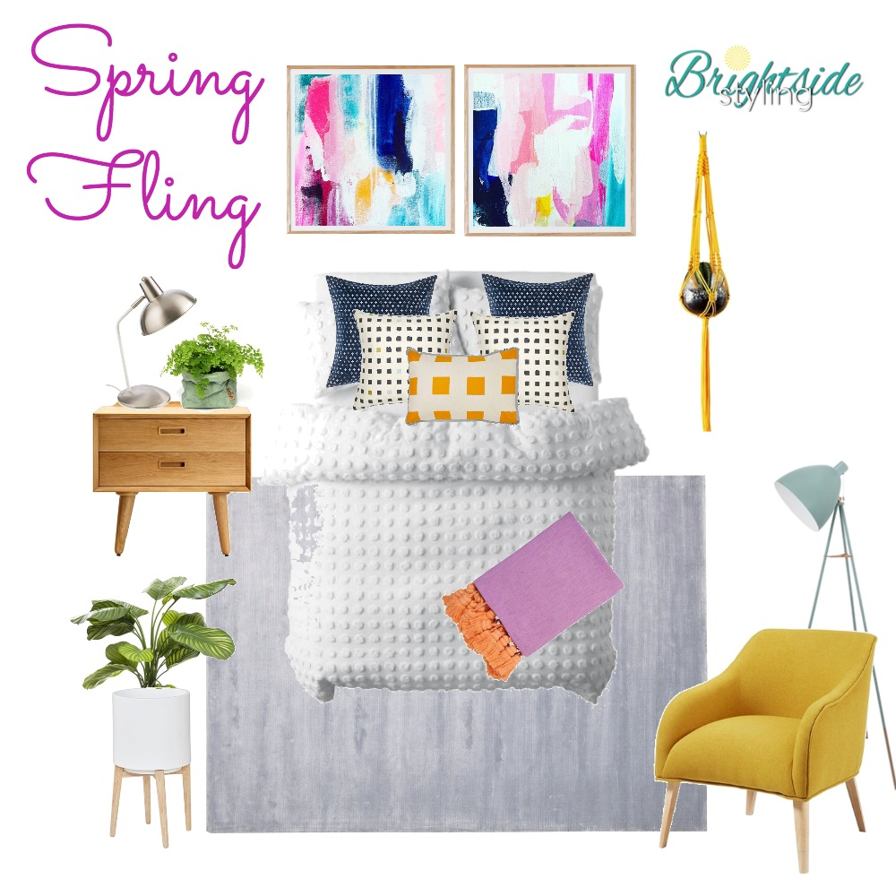Spring Fling Mood Board by brightsidestyling on Style Sourcebook