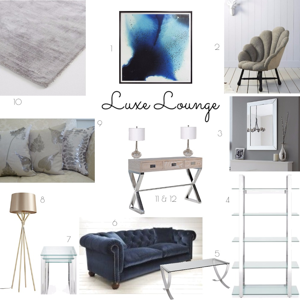 Luxe Lounge Mood Board by NatashaLade on Style Sourcebook