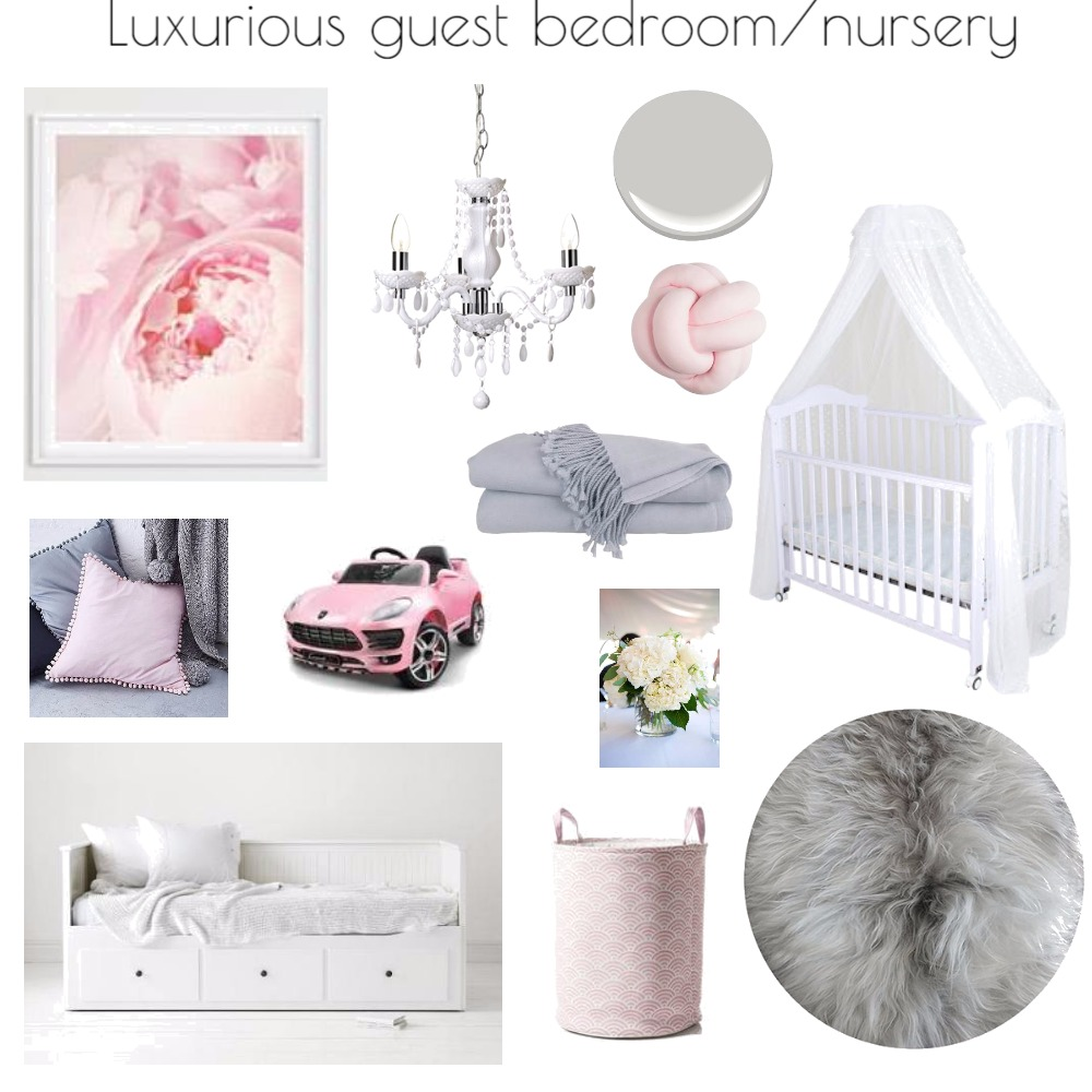 Guest Bedroom/Nursery Mood Board by Lindadm on Style Sourcebook