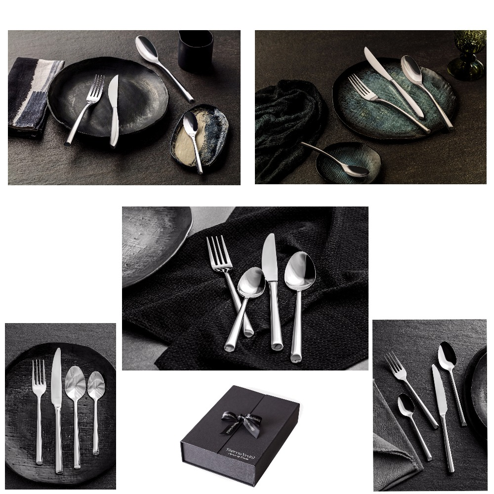 Stylised Forged Cutlery Mood Board by 3155barn on Style Sourcebook