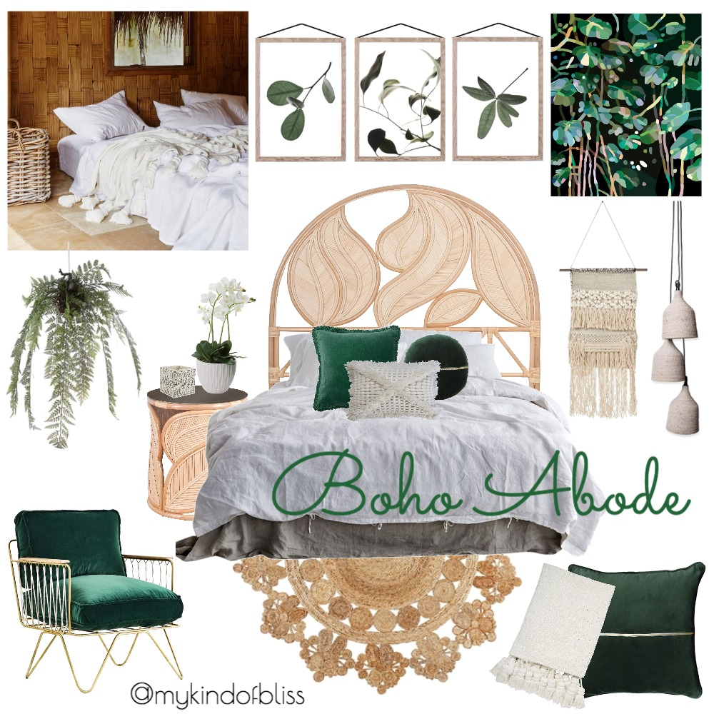 Boho Abode Mood Board by My Kind Of Bliss on Style Sourcebook