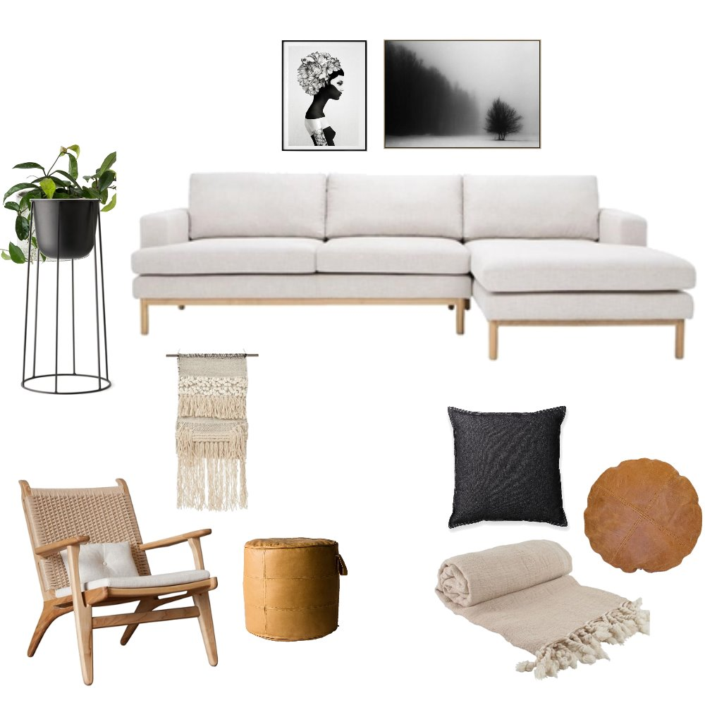 Natural x Charcoal Mood Board by OurLittleHome on Style Sourcebook