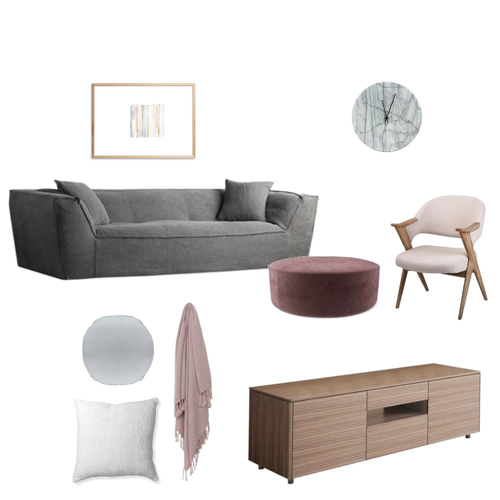 Blush x Grey x Timber Mood Board by OurLittleHome on Style Sourcebook