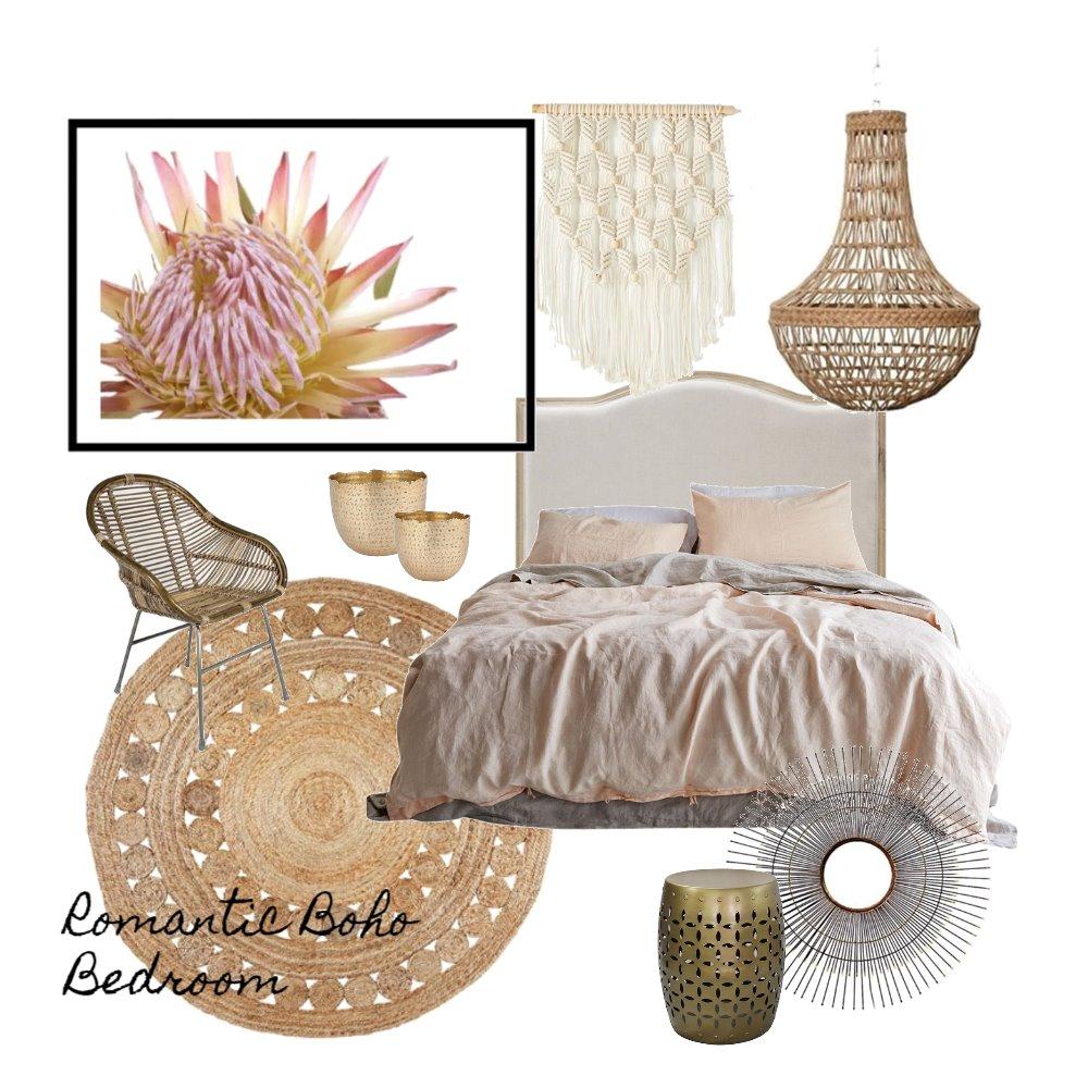 Romantic Boho Bedroom Mood Board by AnnabelFoster on Style Sourcebook