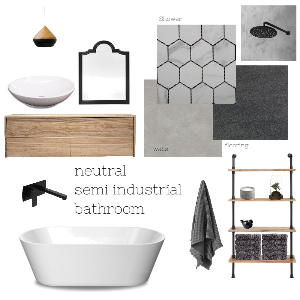 Bathroom Interior Design Mood Board by kcinteriors on Style Sourcebook