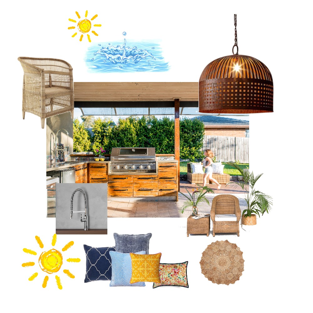 Summer Dream Mood Board by Just In Place on Style Sourcebook