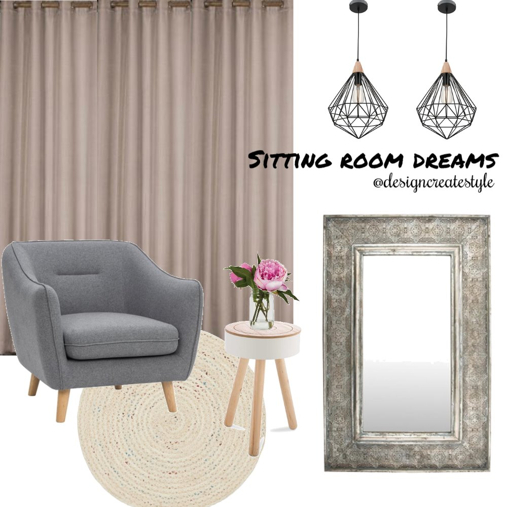 Sitting Room Dreams Mood Board by designcreatestyle on Style Sourcebook