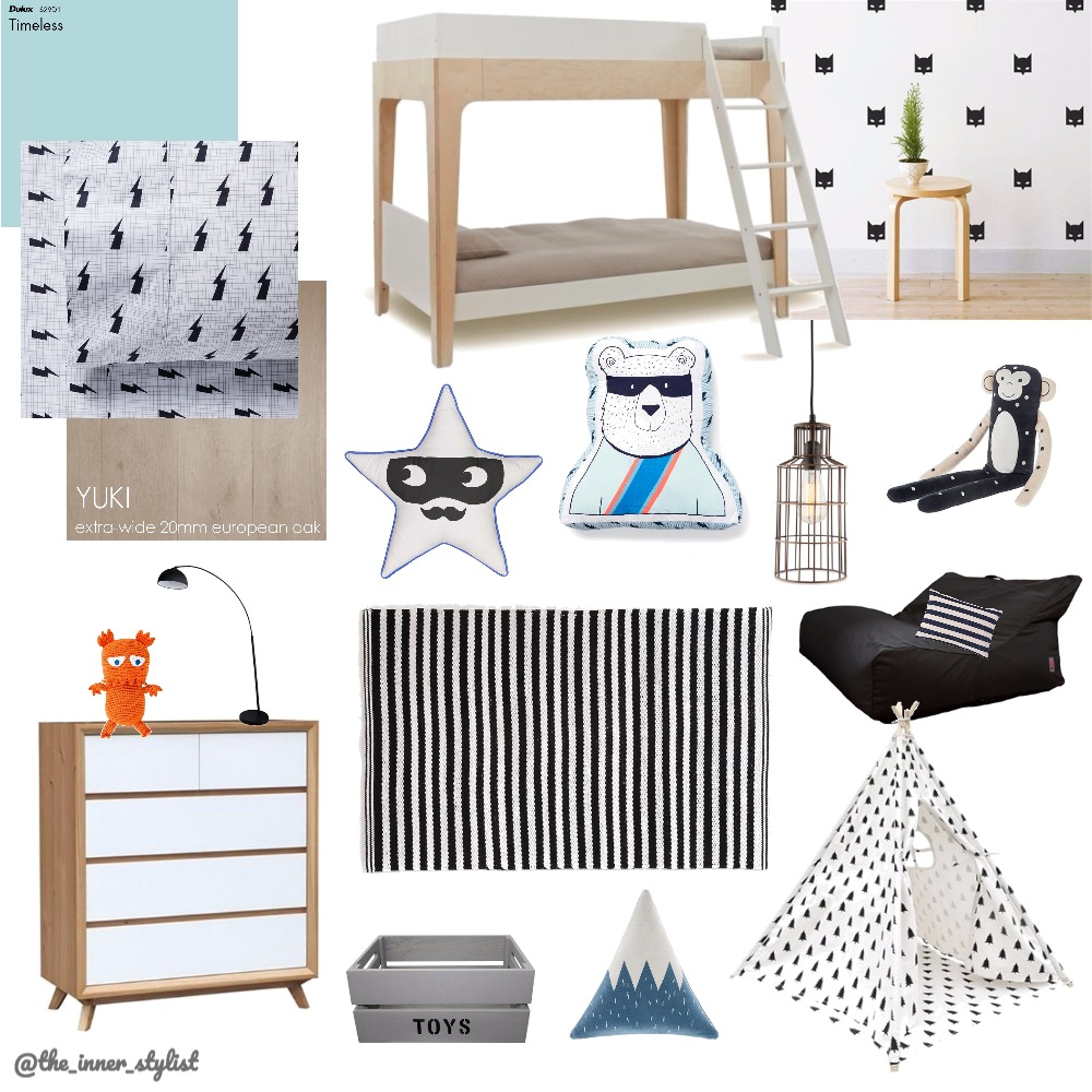 The boys' hangout Interior Design Mood Board by Plant some Style on Style Sourcebook