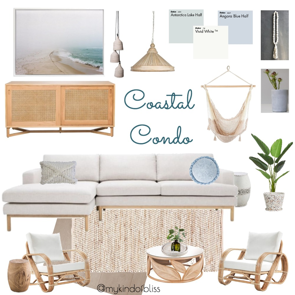 Coastal Condo Mood Board by My Kind Of Bliss on Style Sourcebook